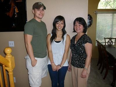 Jason, Raelynn, and Mary